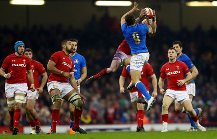 Win tickets to Italy v Wales in 2019