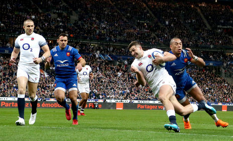 Win tickets to England v France in 2019