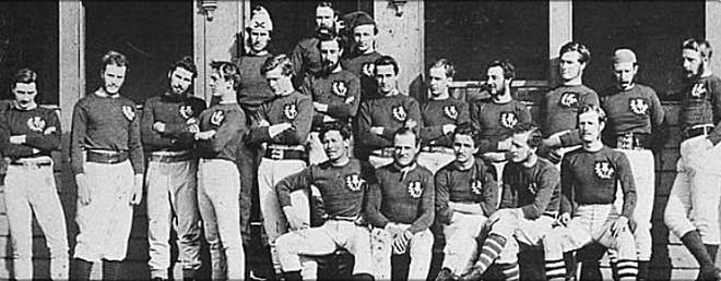 Scotland team - 1871 (Glasgow Herald (Glasgow, Scotland), Tuesday, 28 March 1871; Issue 9746)