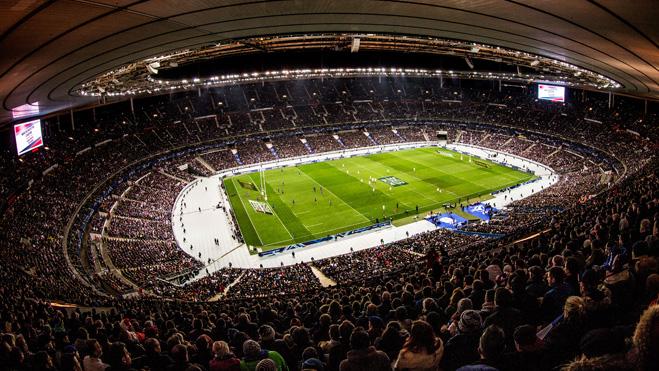 Venues france stade de france tournoi six nations - Superficie stade de france ...