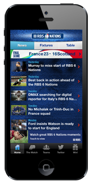 RBS 6 Nations iPhone App