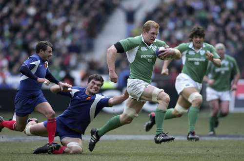 Ireland v France - 11th Feb 2006
