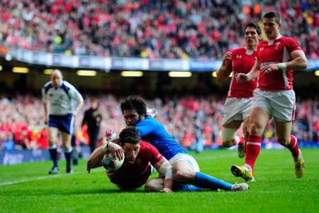 Wales v Italy, March 10 2012