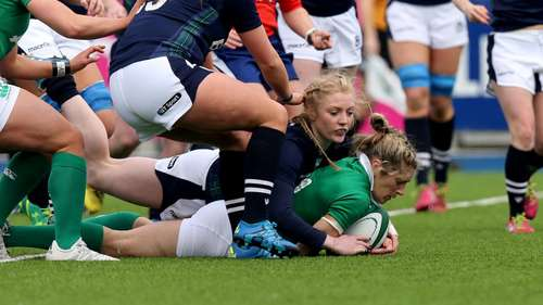 Ireland Women 45 Scotland Women 12