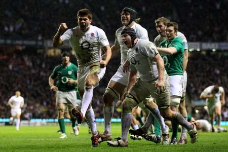 England v Ireland, March 17 2012