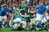 Eoin Reddan clears from a ruck