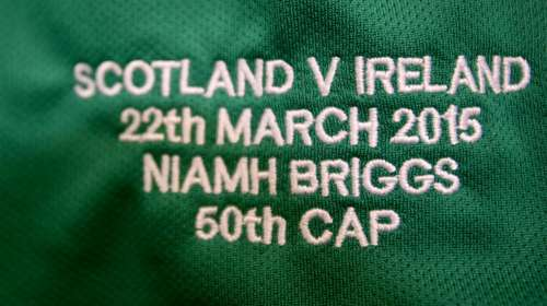 Scotland Women v Ireland Women, 22/03/2015