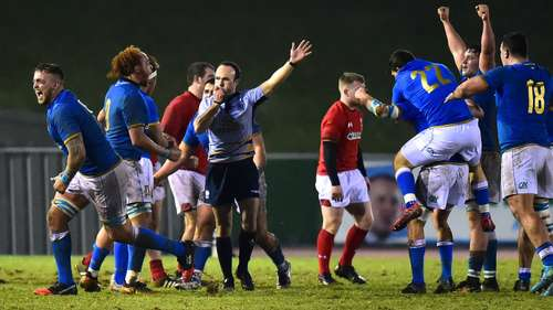 Wales Under-20s 7 Italy Under-20s 18