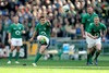 Ireland's Paddy Jackson slots a penalty