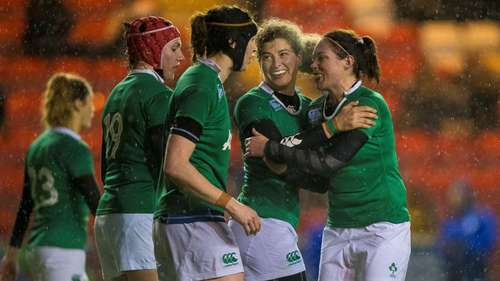 Scotland Women 15 Ireland Women 22