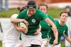Ireland lock Sophie Spence seen on the charge at Esher..