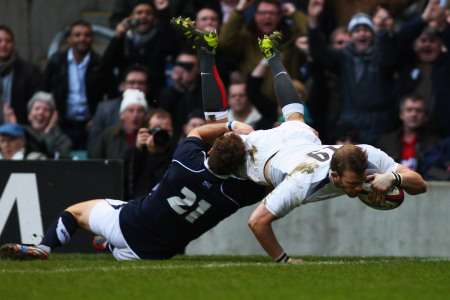 England v Scotland, March 13 2011