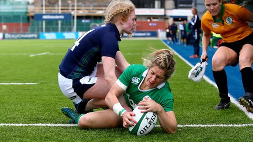 Miller hat-trick dispatches Scotland Women at Donnybrook
