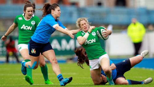 Ireland Women battle to win over Italy Women