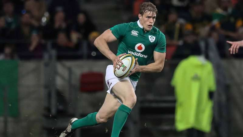 Trimble: Ireland already have All Blacks in the crosshairs