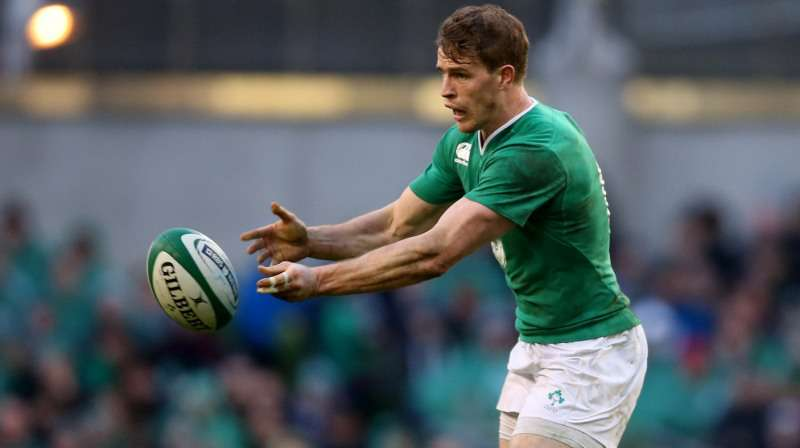 Trimble happy to be back in the green of Ireland