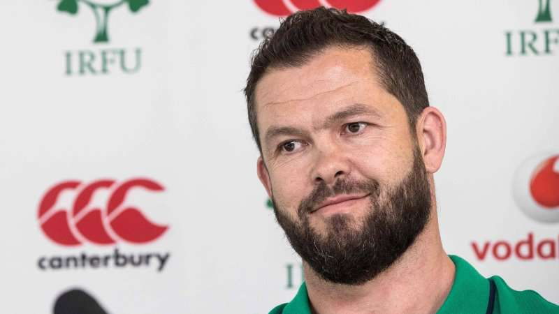 Farrell targeting Ireland series win in South Africa