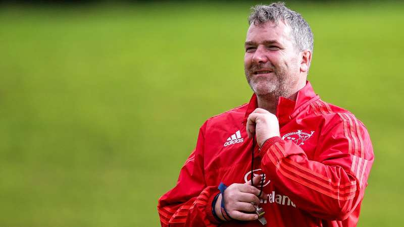 Tributes paid to Munster and Ireland legend Anthony Foley