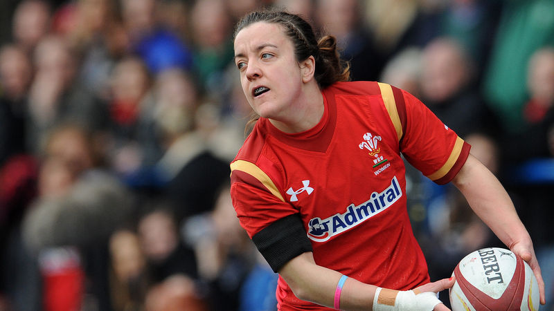 Elen Evans of Wales will line out for Barbarian FC against Munster