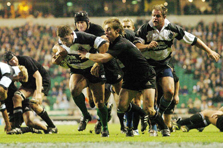 Barbarians v New Zealand, December 2004
