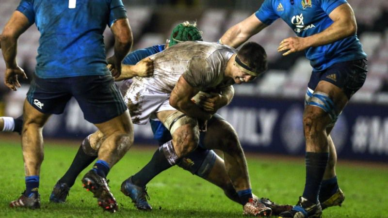 Ryan and Woodward back Italy over ruck tactic