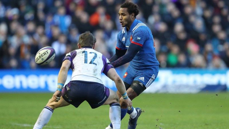 Benjamin Fall, France, NatWest 6 Nations