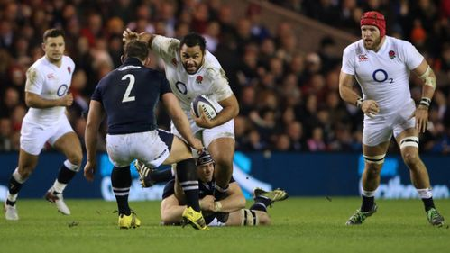 Vunipola feeling the love from Jones