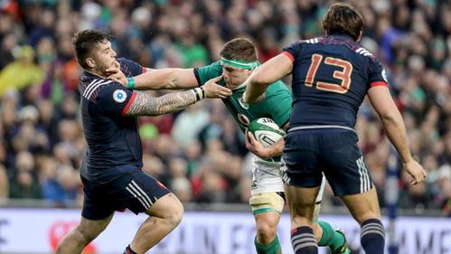 RBS 6 Nations Stat Watch: Stander carries against French defence