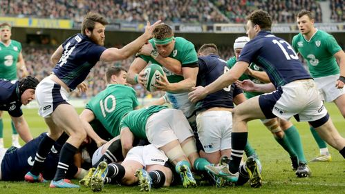 Ireland finish on a high in Dublin thriller