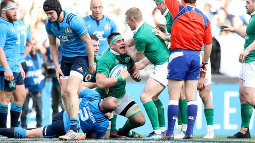 Stander and Gilroy trebles complete Ireland's Italian Job