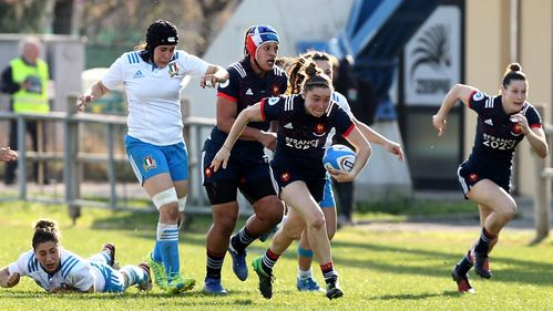 Ladagnous grabs a double as France Women down Italy