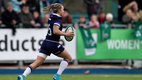 Chloe Rollie inspires Scotland to victory in Dublin
