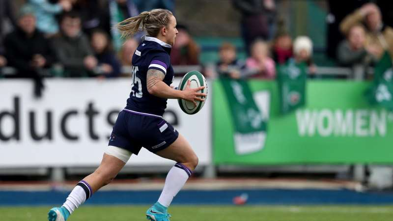Women's rugby in Scotland on the rise