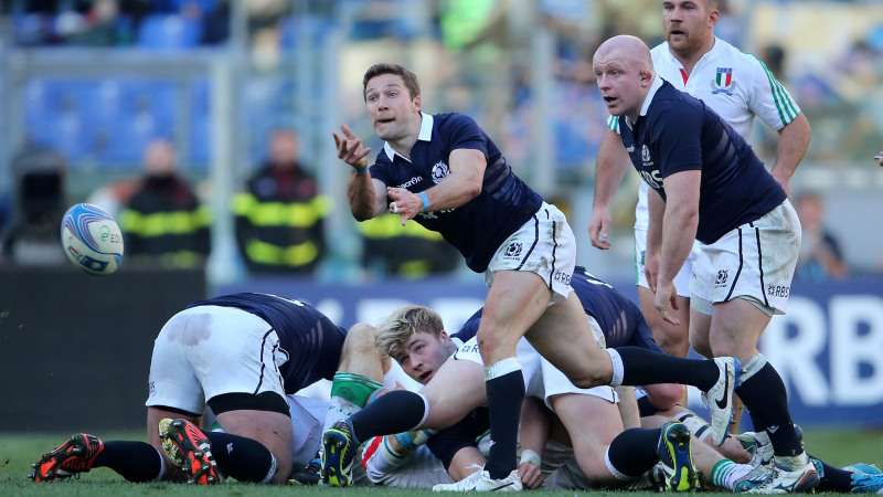 Scotland scrum-half Cusiter calls it a day