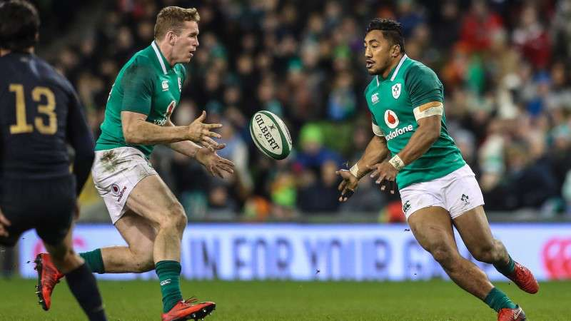 Who will replace Robbie Henshaw for Ireland?