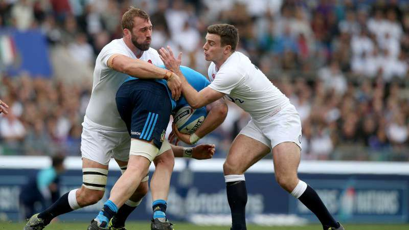 Eight new faces as Robshaw and Ford share captaincy