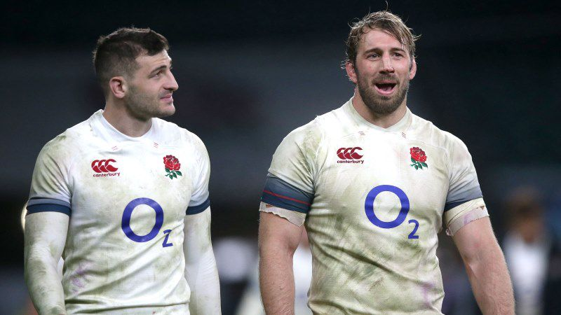 Chris Robshaw, Jonny May, England, NatWest 6 Nations
