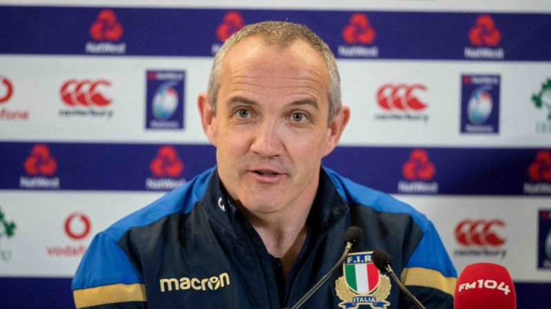 Conor O'Shea, Italy, NatWest 6 Nations