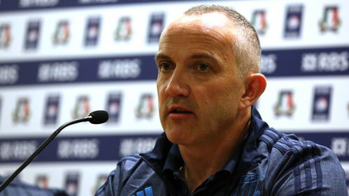 O'Shea proud of Italian display in defeat to Australia