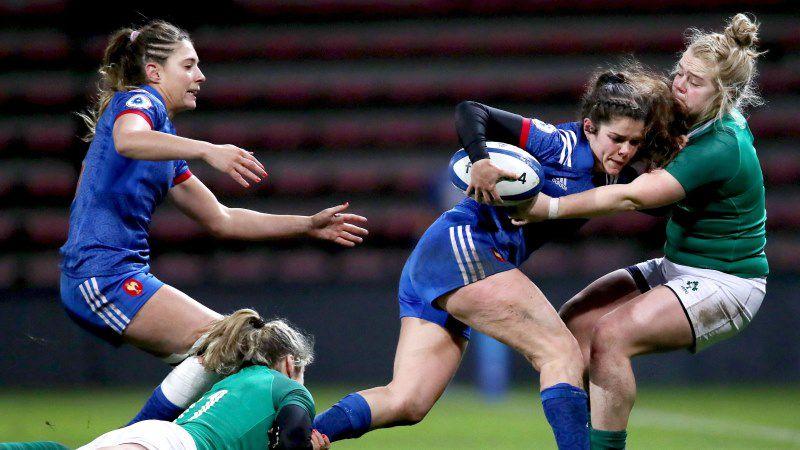 Cyrielle Banet, France Women, Ireland Women, Women's Six Nations