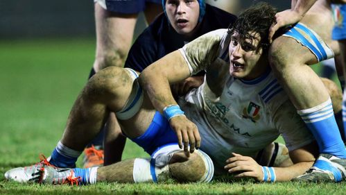 Italy Under-20s captain Davide Fragnito: Cooking up a recipe for future rugby success