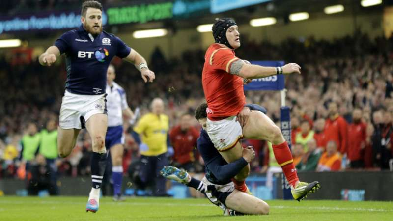 RBS 6 Nations Play of the Week: Round Two