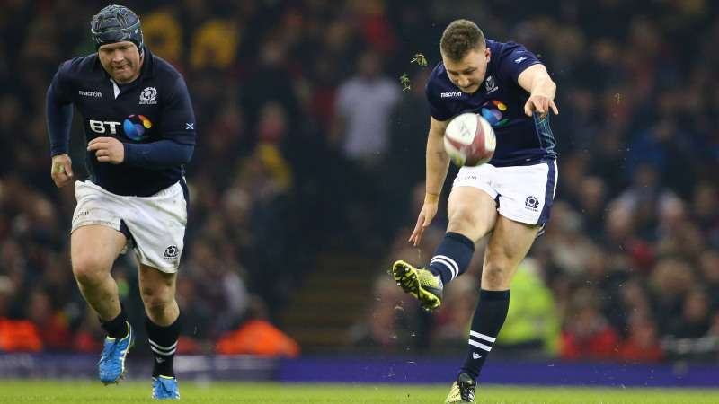 Duncan Weir feels he's in the kicking form of his life