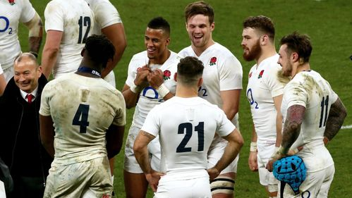 Eddie Jones satisfied with England progress