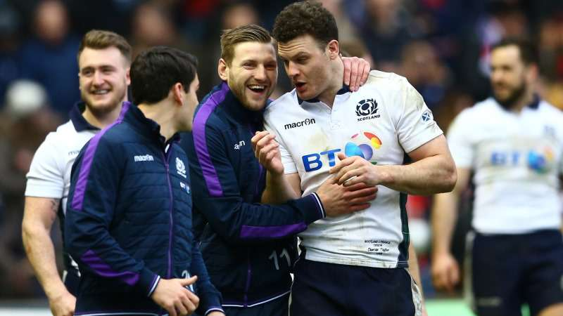 Paterson: Russell and Taylor a key part of Scotland's future