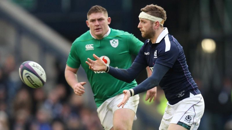 Scotland's Hogg set for historic half century against France