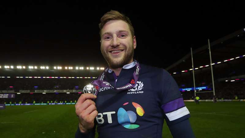 Russell overwhelmed by historic Scotland win