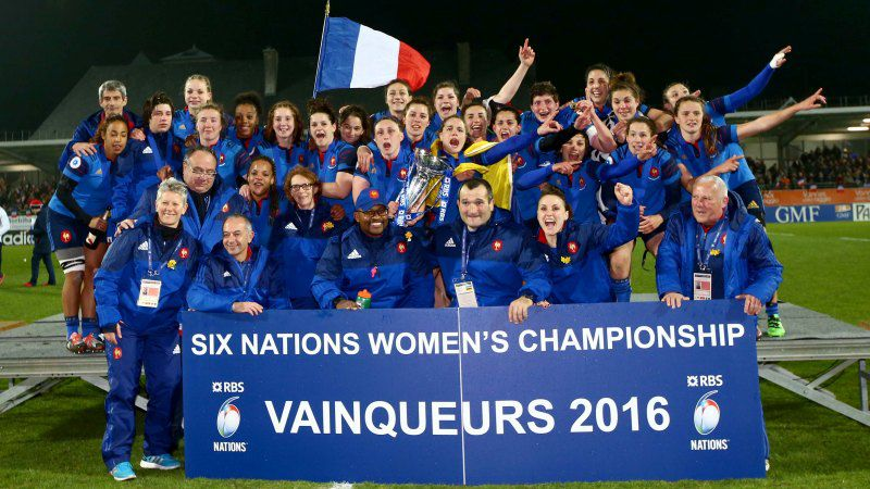 France won the 2016 Women's Six Nations - Photo by Inpho
