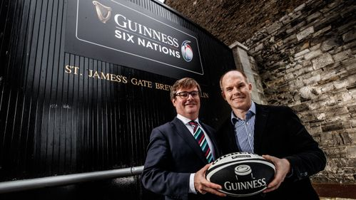 Guinness announced as title sponsor of Rugby's Greatest Championship