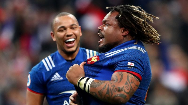 Image result for Gael Fickou and Mathieu Bastareaud